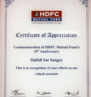 Valued Associate of HDFC